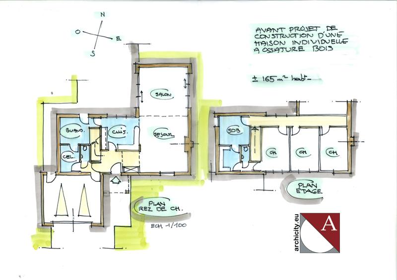 Plans des maisons gascity for for Plan interieur maison moderne